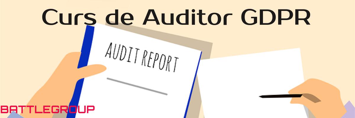 curs auditor GDPR